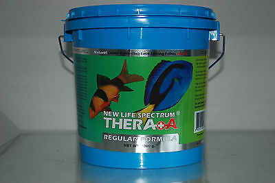 New Life Spectrum Thera  A  Formula + Extra Garlic 2000g Tub 1mm Pellets