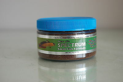 New Life Spectrum Small Fish Formula  50 gram Tub 0.5mm pellet Size