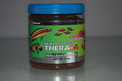 New Life Spectrum Thera  A  Small Fish Formula + Extra Garlic 120g Tub 0.5mm