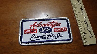 Vintage Ford Lincoln Mercury Connersville Indiana  Patch  Bx  M #4