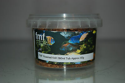 FMF Roasted Krill Suitable For All Fish 280ml Tub Approx  40g