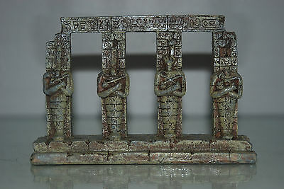 Detailed Aquarium Egyptian Pharaoh Column 17.5 x 4.5 x 14 cms For All Aquariums • EUR 9,26