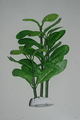 Aquarium Silk Plant 20cms Light Green long with long Leaves For All Aquariums