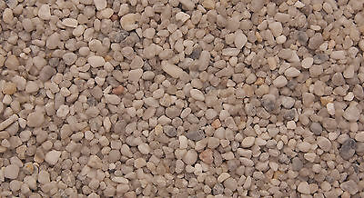 Aquarium Natural Gravel Arctic 2 to 5mm Grains Suitable for Aquariums 2.5 kg