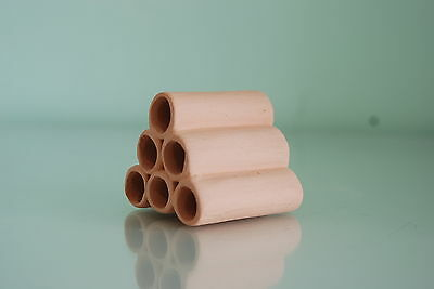 Aquarium Ceramic Breeder Tubes Small 5 x.5 x 5 For Loaches and Small Fish