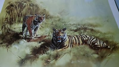 Tiger Majesty Picture Print by Leonard Pearman