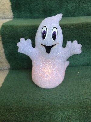 """Light-Up Ghost. White. 10"""" High."""