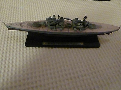 Atlas Editions DeAgostini HMS Prince of Wales Model with stand. 1/1250 New Boxed