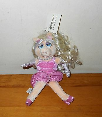 Miss Piggy Soft Toy The Muppets Disney Store Exclusive 9""