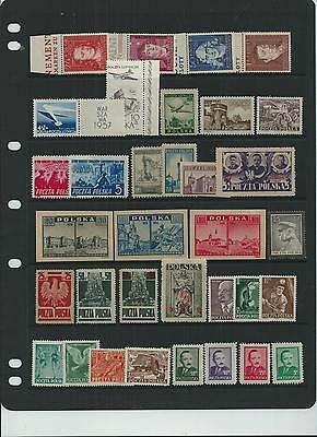 Poland Super All Early Selection All Nice Mnh **