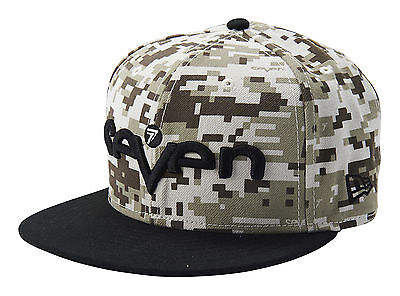 Seven Brand New Era Camo Hat - Sand, one size fits most
