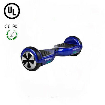 Easy People 2 Wheel Bluetooth + Speakers Motorized  Scooter hoover Board Blue UL