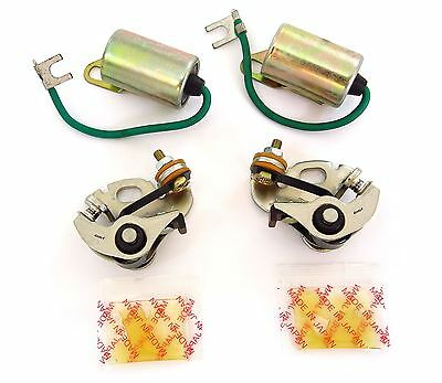 Ignition Tune Up Kit - Points and Condensers - Honda CB350F CB400F CB400 Four