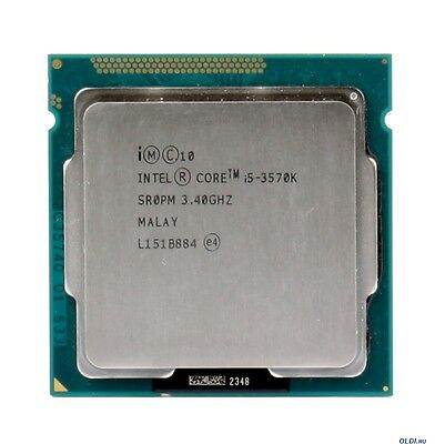 Processeur Intel Core i5 3570k 3,8 Ghz turbo Socket 1155 NO PAYPAL FREE SHIPPING