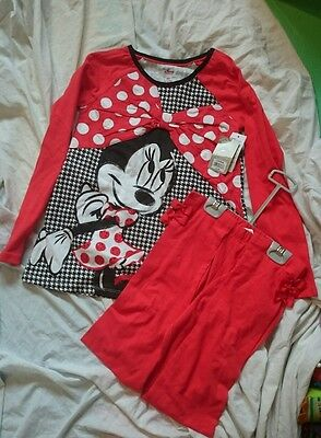 bnwt Minnie mouse 9-10 years outfit Christmas present disney