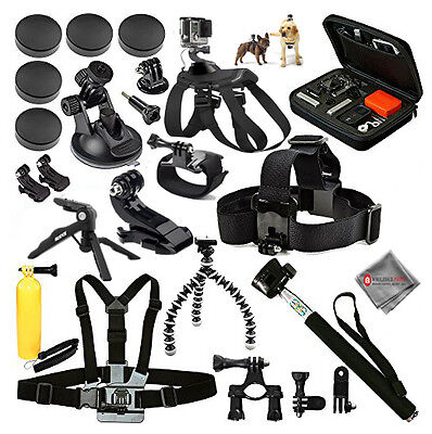 GoPro Hero EVERYTHING YOU NEED ACCESSORY BUNDLE fits ALL GoPros!
