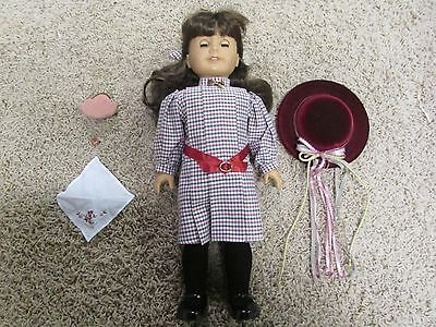 Samantha Historic American Girl Doll Complete Meet Outfit and Accessories