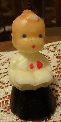 Vintage -Christmas Gurley- Choir Boy Candle -made in USA