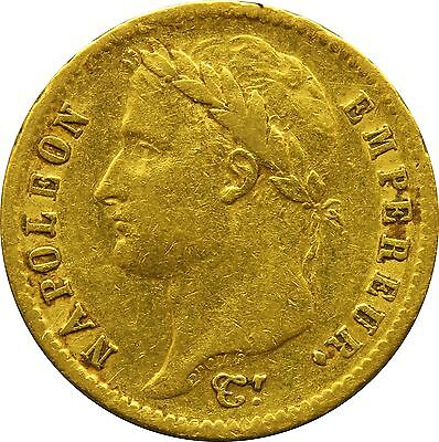 20 Francs Coin From 1811 Napoleon Bonaparte French Italian Emperor Collections