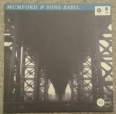 "MUMFORD AND SONS - BABEL - 7"" SINGLE  - ONLY 1000 COPIES No. 621- UNPLAYED MINT"