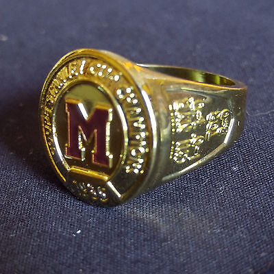 2016 Molson Canadian Stanley Cup Ring - Montreal Maroons NHL Hockey FREE SHIPPIN