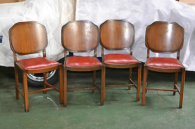 4 Retro dining chairs