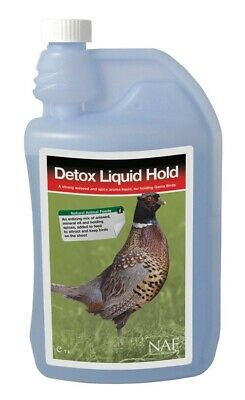 NAF - Detox Liquid Hold Poultry Feed Supplement  1 Lt