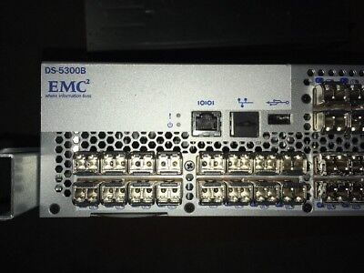 EMC DS-5300B 64 Ports Active/80P 8G Switch 100-652-067 8G SW SFP
