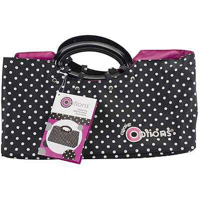 Creative Options Crochet Tote 13 Inch X 5.5 Inch X 8.875 Inch-Blac 024099077330