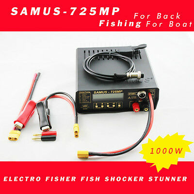 samus725mp Electro Fisher Fish Shocker Stunner Samus 725MP fishing machine