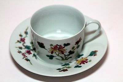 "Vintage Ceralene  A Raynaud  Limoges  "" Nymphea ""  Teacup and Saucer"