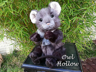 Handmade Collectable Fully Jointed 30cm Charlie Bears -  Mouse 'Templeton''