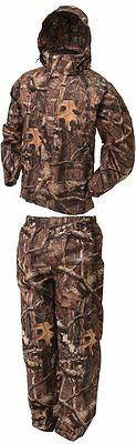 All Sport Camo Rain Suit, Frogg Toggs, Small Real Tree Xtra