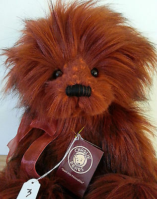 "Handmade Collectable 2015  Fully Jointed Charlie Bear ""Spellbound"""