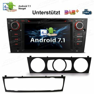 "7"" Android 7.1 Autoradio DVD GPS Navigation Bluetooth DAB+ HDMI für BMW E90-E93"