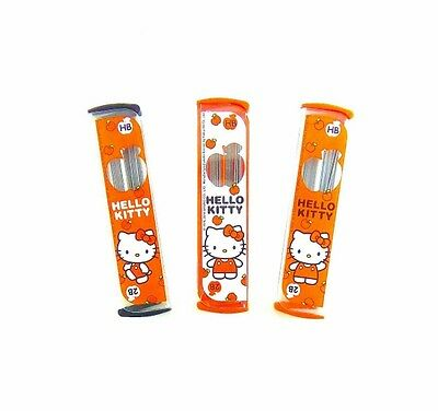 Sanrio Hello Kitty Mechanical Pencil Leads Refill Hb & 2B In One 0.5 Mm. 23 Pcs.
