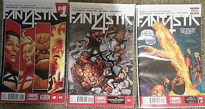 Fantastic Four #1-3 All New Marvel Now