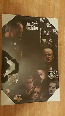 The Godfather poster canvas
