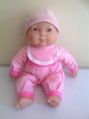 Berenguer Baby Doll 29cm Tall Blue Eyes  VGC