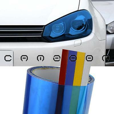 "12 x 48"" Blue Tint Car Headlight Taillight Fog Lamp Vinyl Smoke Film Cover Sheet"