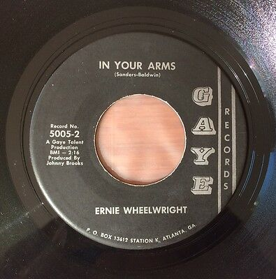 Rare Georgia Northern Soul Ernie Wheelwright In Your Arms Gaye Rare Soul Listen