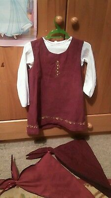 Masha and the Bear Girls Dress/Outfit