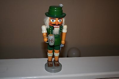 Authentic German Nutcrackers Green Drinking  Hodrewa Made in GDR
