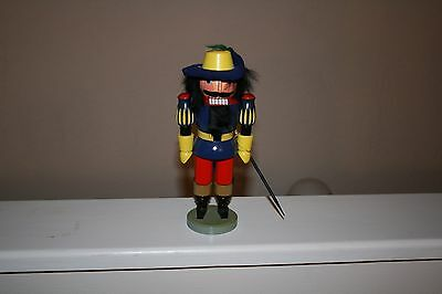 Authentic German Nutcracker Musketter Complete  Hodrewa Made in GDR