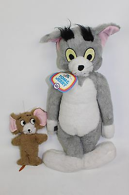 Vintage Tom and Jerry Chad Valley Chiltern Hygienic Soft Toys MGM 1973 Teddy A4