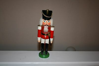 Authentic German Nutcracker Soldier Complete  Hodrewa Made in GDR