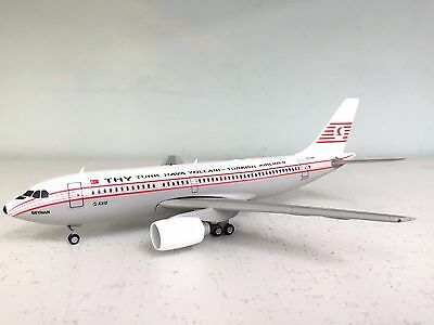 Sky Classics 1: 200 Airbus A310 Turkish Airlines TC-JCM ein metall modell