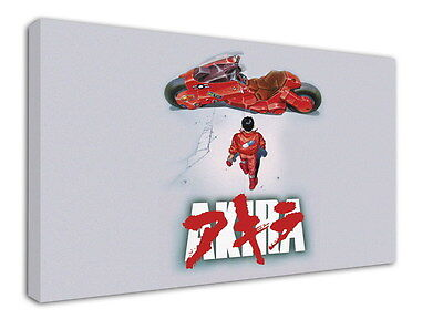 WK-C002 (507) Akira Canvas Stretched Wood Framed 36x24inch Poster