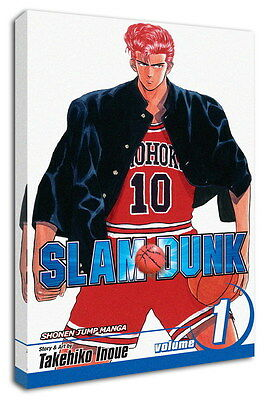 WK-C022 (510) SLAM DUNK Canvas Stretched Wood Framed 36x24inch Poster