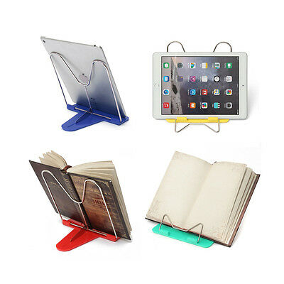 Adjustable Angle Foldable Portable Reading Book Stand Document Holder E5